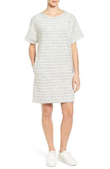 7b1aa1825eb Caslon® Terry T-Shirt Dress (Regular   Petite) available at  Nordstrom
