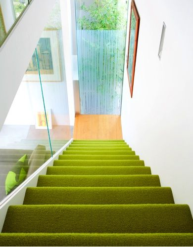 Best Like The Green Carpet With White Walls Stair Runner Carpet 400 x 300
