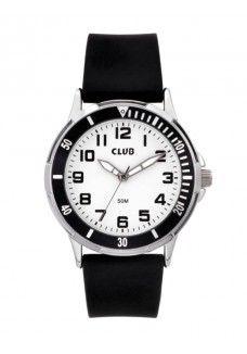 23d40980f6f CLUB DRENG CROM MED SORT REM | Club Time ure | Ure, Farver