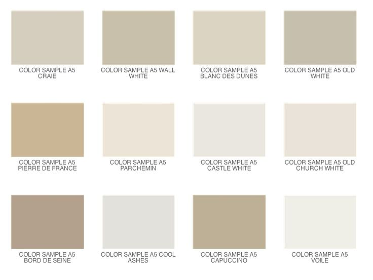 Painf colors for neutral grays