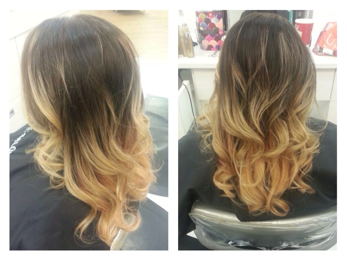 Drastic Ombre Balayage Brunette Blonde Ulta Hair By Claudia Balayage Brunette Ulta Hair Balayage