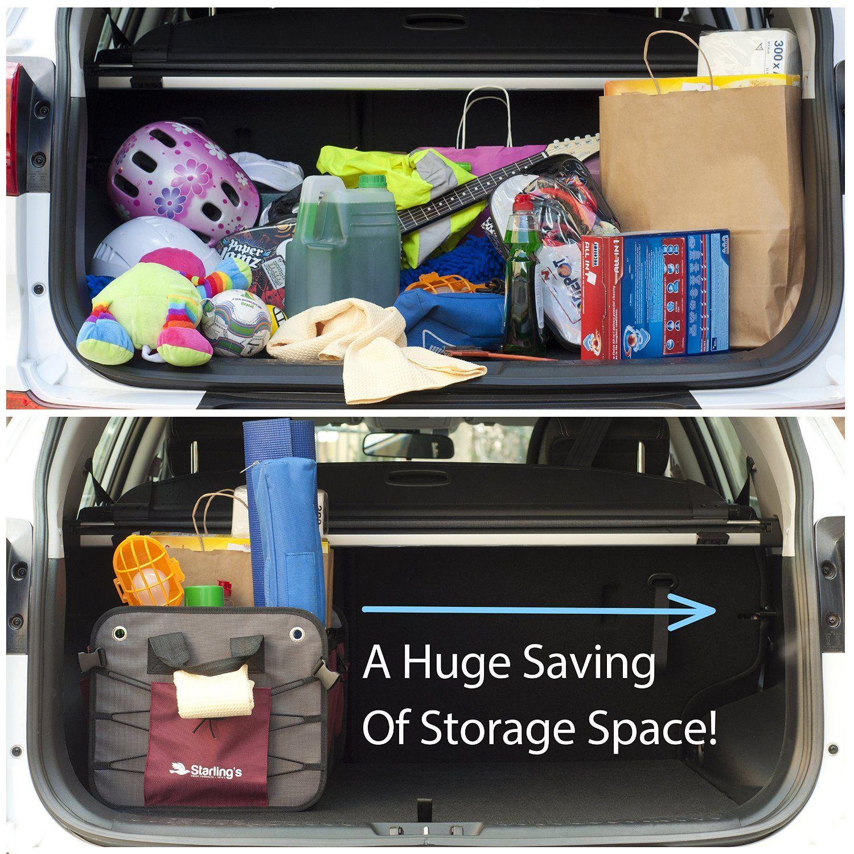 Amazoncom Car Trunk Organizer by Starlings Cargo Trunk Storage