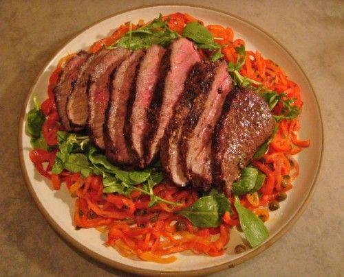 Zesty marinade for beef