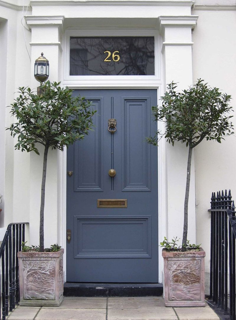 Choose The Best Color For Your Front Door Designrulz