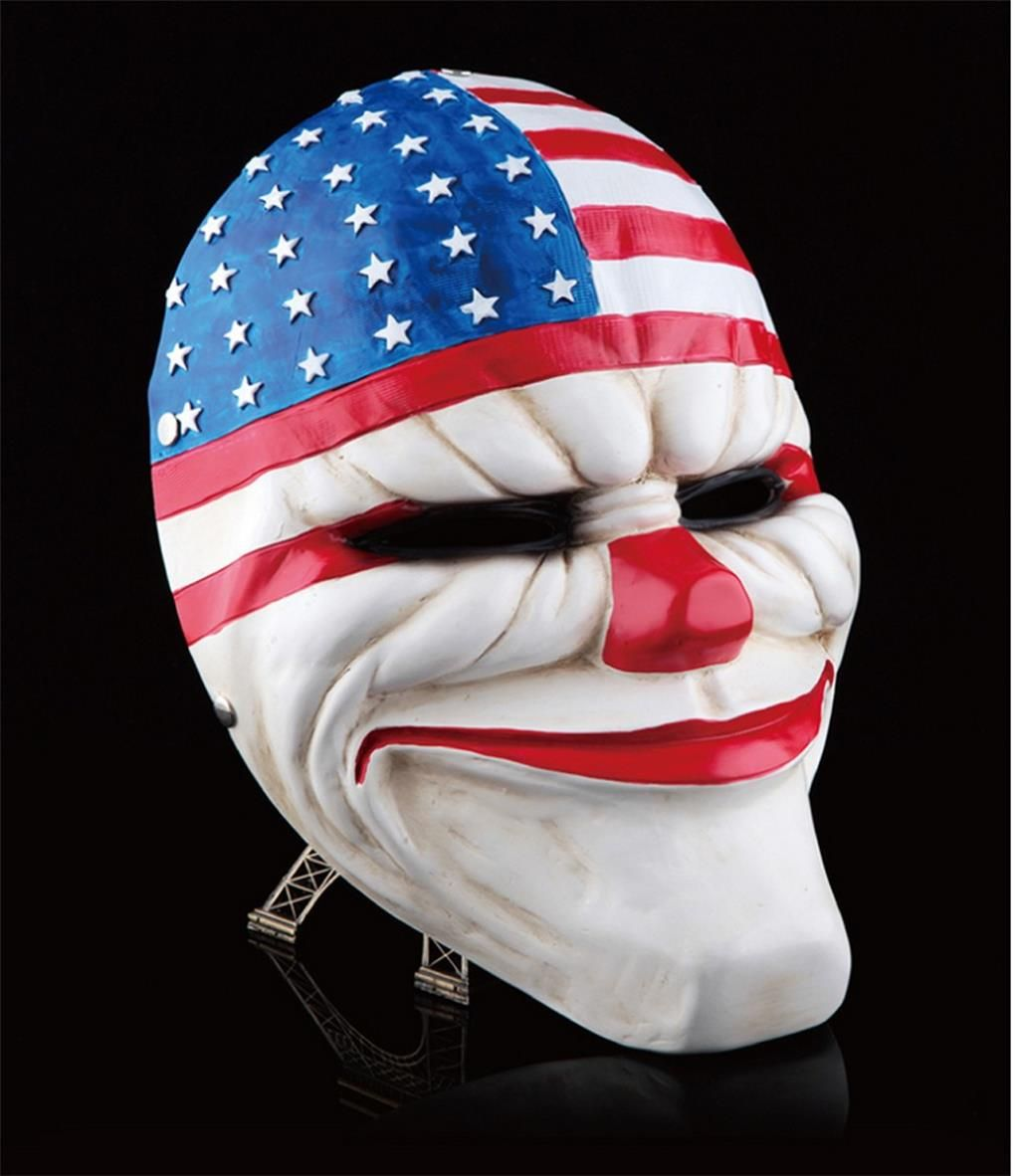 Online Payday 2 Dallas Mask Heist Dallas Costume Props Collection ...