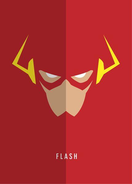 Justice League Minimalist Posters on Behance | Minimalist ...