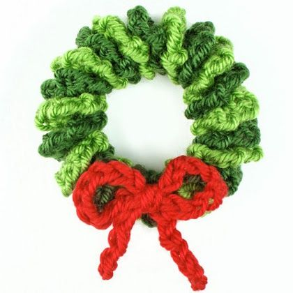 Mini Wreath Ornament-for inspiration | All things Christmas ...