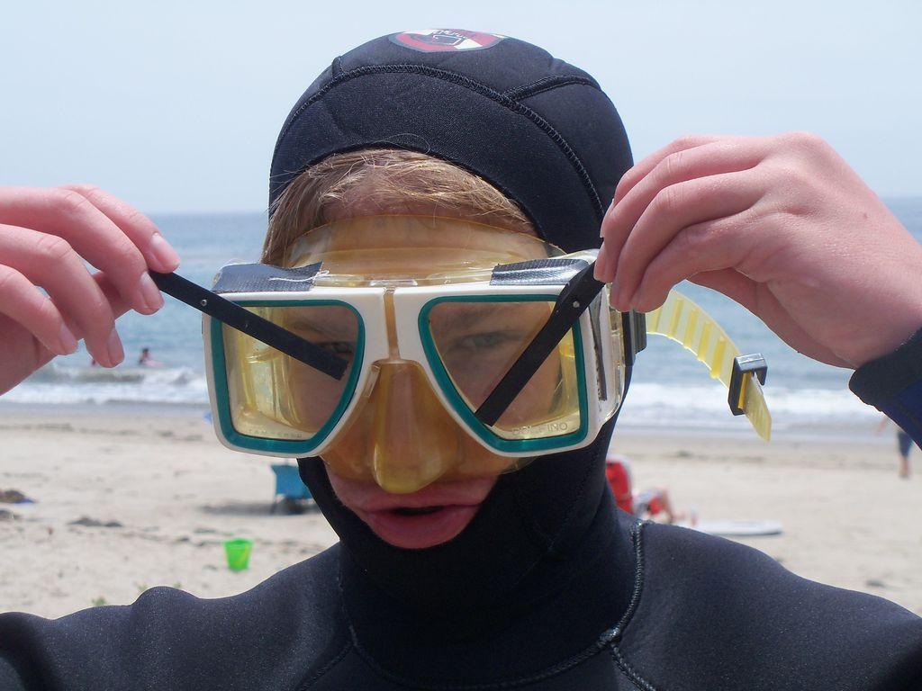 SCUBA Mask Wiper Blades Sports glasses, Glasses, Blade
