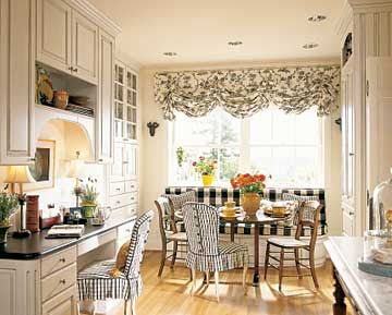 Black And White Country Kitchen country villa decor: french country decor .. black and white