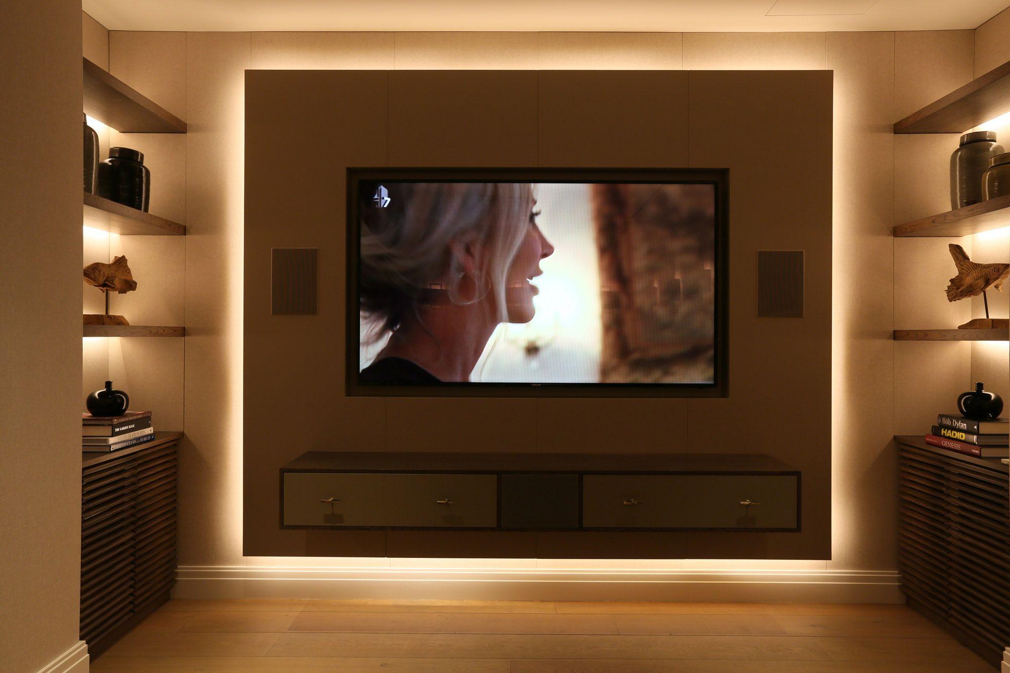 cinema and games room lighting design
