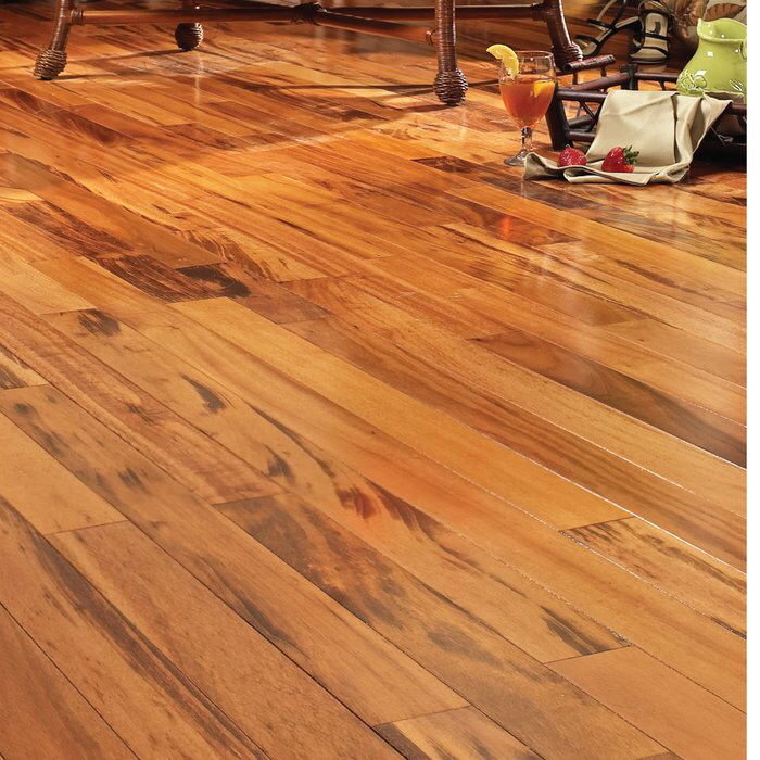 South American Legends Tigerwood 3 8 Thick X 5 Wide X Varying Length Engineered Hardwood Flooring Engineered Hardwood Solid Hardwood Floors Engineered Hardwood Flooring
