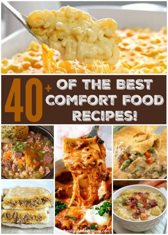 Over 40 of the best comfort food recipes healthy family recipes over 40 of the best comfort food recipes forumfinder Gallery