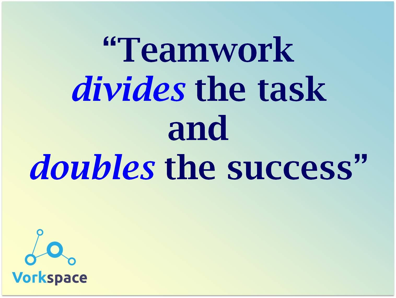 the teamwork project And develop projects and plans teamwork involves building relationships and  working with other people using a number of important skills and habits.
