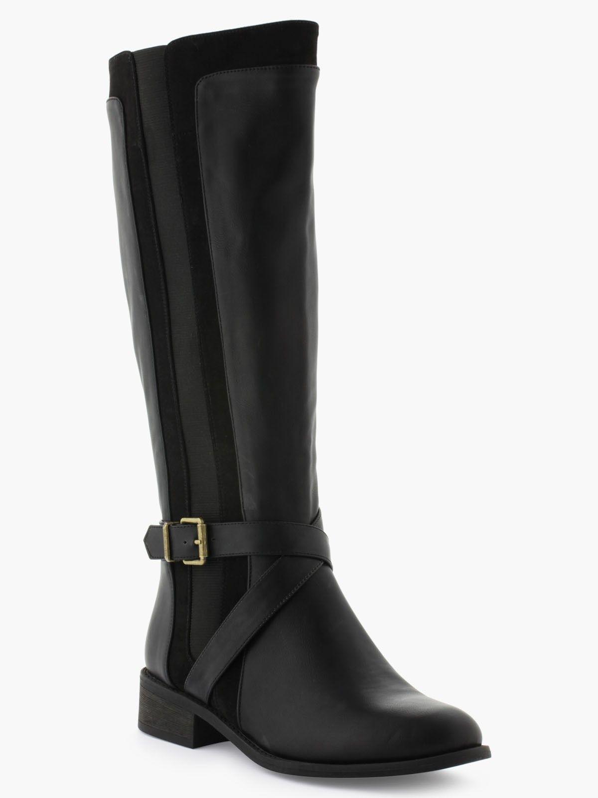 Now FLOTTER Noir - Livraison Gratuite avec  - Chaussures Botte Femme