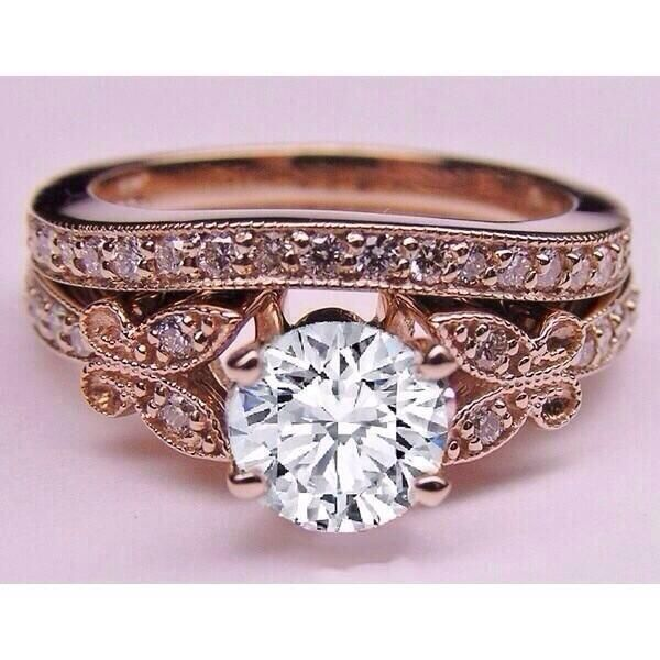 Solitaire vintage rings diamond