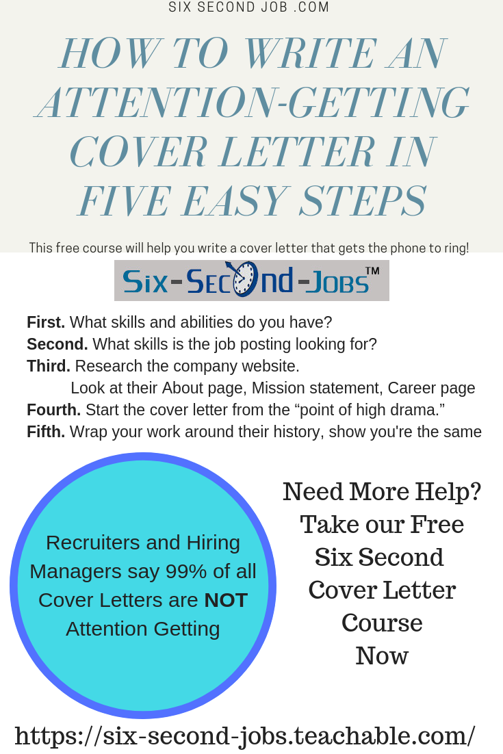 Hiring Managers Say 99 Of All Cover Letters Do Not Get Their Attention