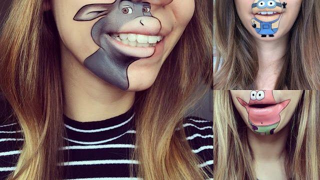 Look du Jour: Lábios Animados!