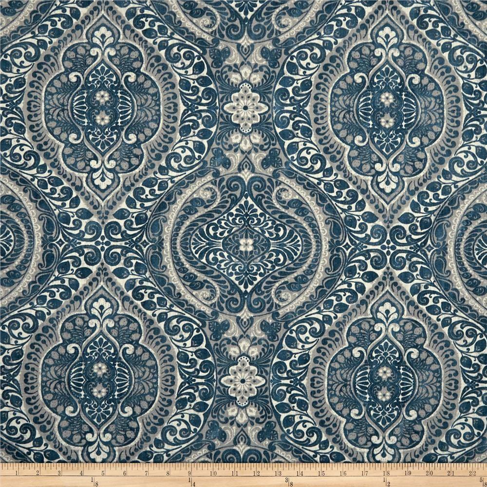 Stof France Boromee Duck Blue Cecehouse Pinterest Fabric