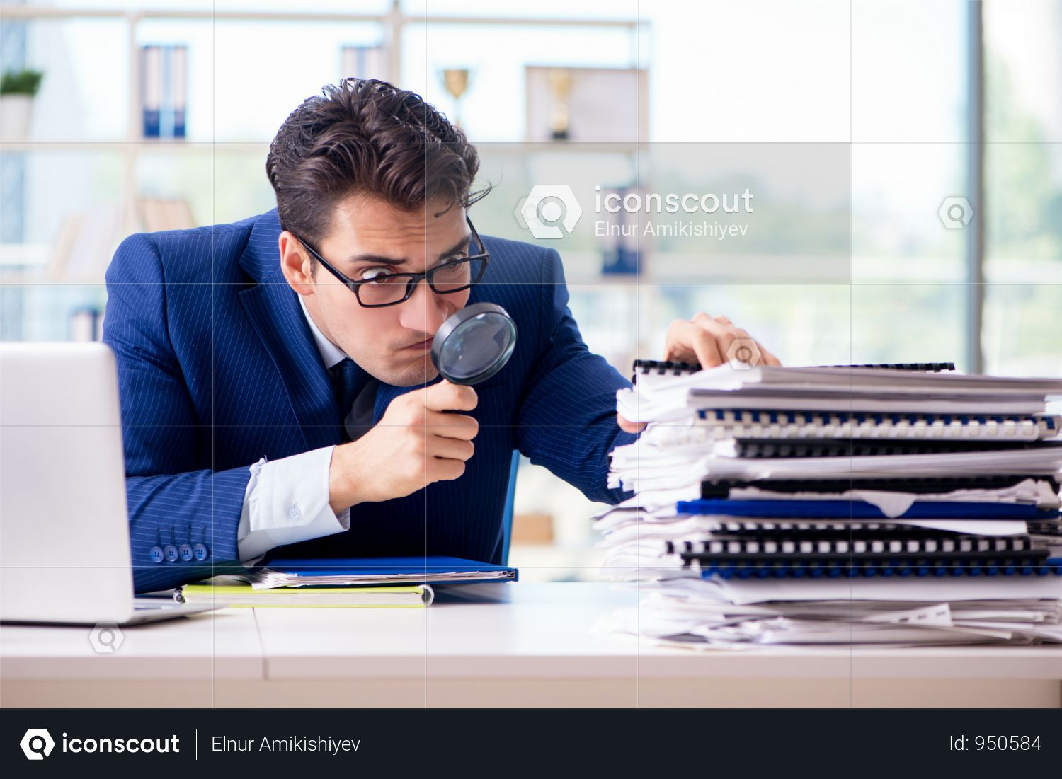 Premium Auditor Looking For Errors In The Financial