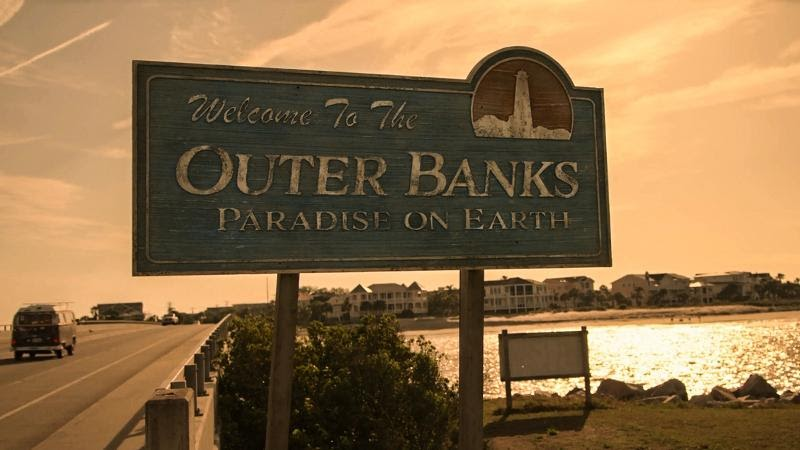 The Best Outer Banks Series Filming Locations Report Out There Sarah S House Location And The Fictional Town O Filming Locations Outer Banks Paradise On Earth