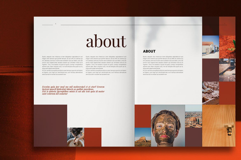 Art Gallery Brochure Brochure layout, Brochure, Brochure