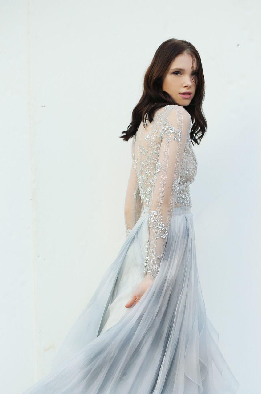 Grandy Top - Leanne Marshall  Hochzeitskleid lang