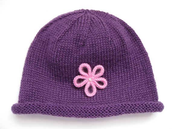5a18ef57a7f9e PATTERN Baby's Rolled Brim Hat in 5 sizes | Products | Baby patterns ...