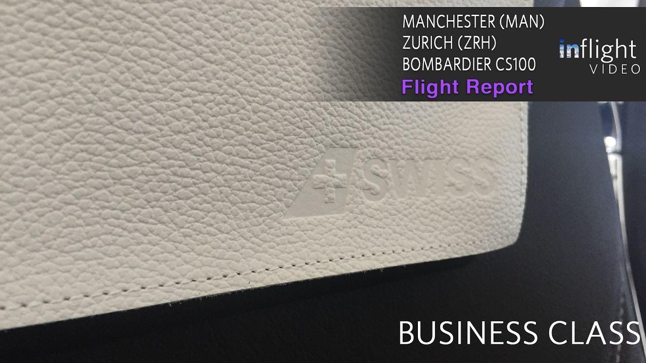 Swiss Business Class Flight Report Bombardier CS100