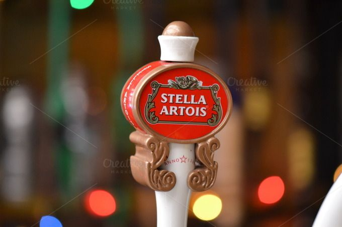 Check out Happy Hour - Stella Beer by Michel Arteta Vaccari on Creative Market