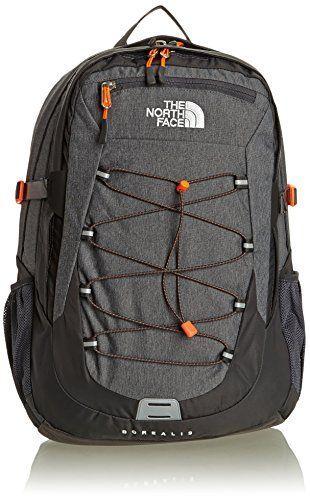 acd2273e4e25 The North Face Borealis Backpack - Men s Zinc Grey Heather Fremescent  Orange