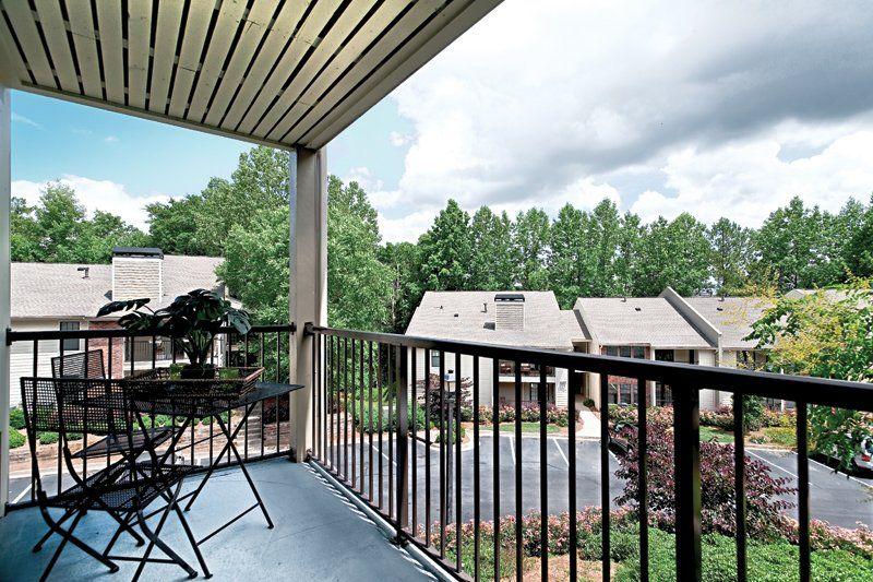 Patio or optional sunroom Mountain living, Apartments