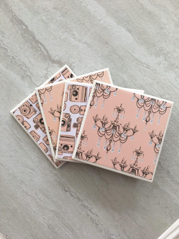Tile Coasters Ceramic Coasters Drinks Coasters Drink Etsy Handmade Coasters Ceramic Coasters Gift Coasters