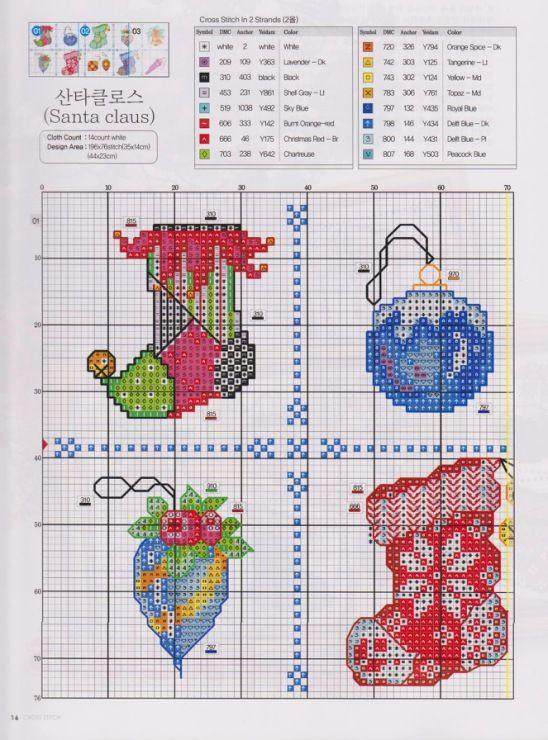 Christmas Stockings/Ornaments | Christmas Needlwork | Pinterest ...