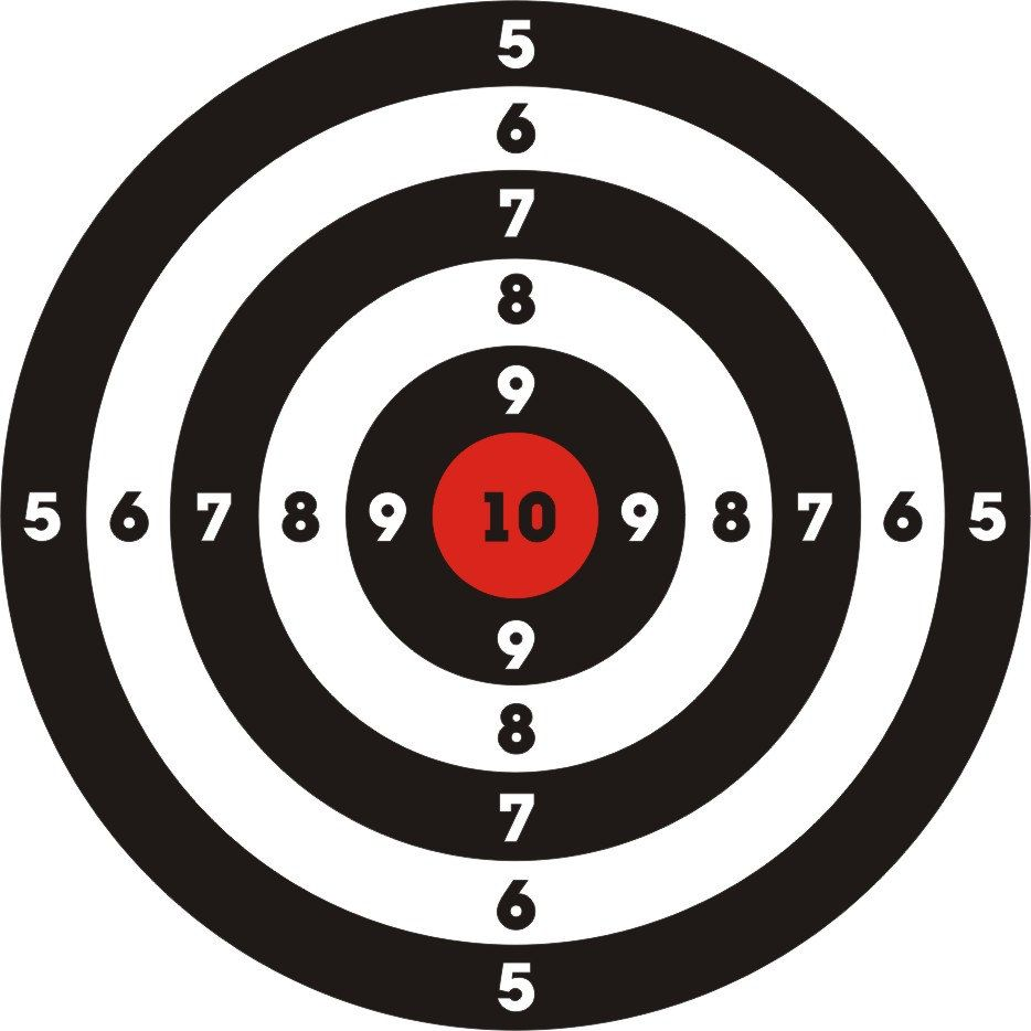 Circle template Infantry Shooting Shield How does an