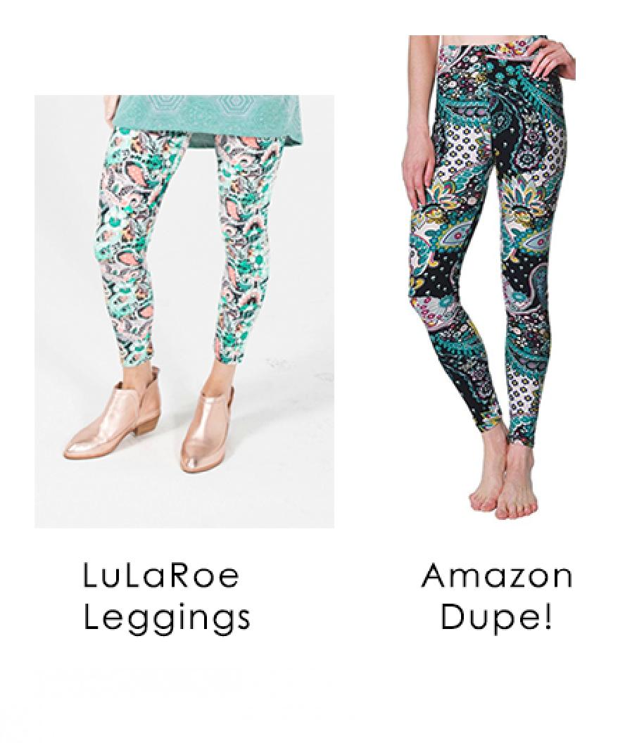 1a9211cce9980 LuLaRoe Leggings Dupe, best leggings, amazon leggings, lularoe leggings  knockoff, amazon dupes