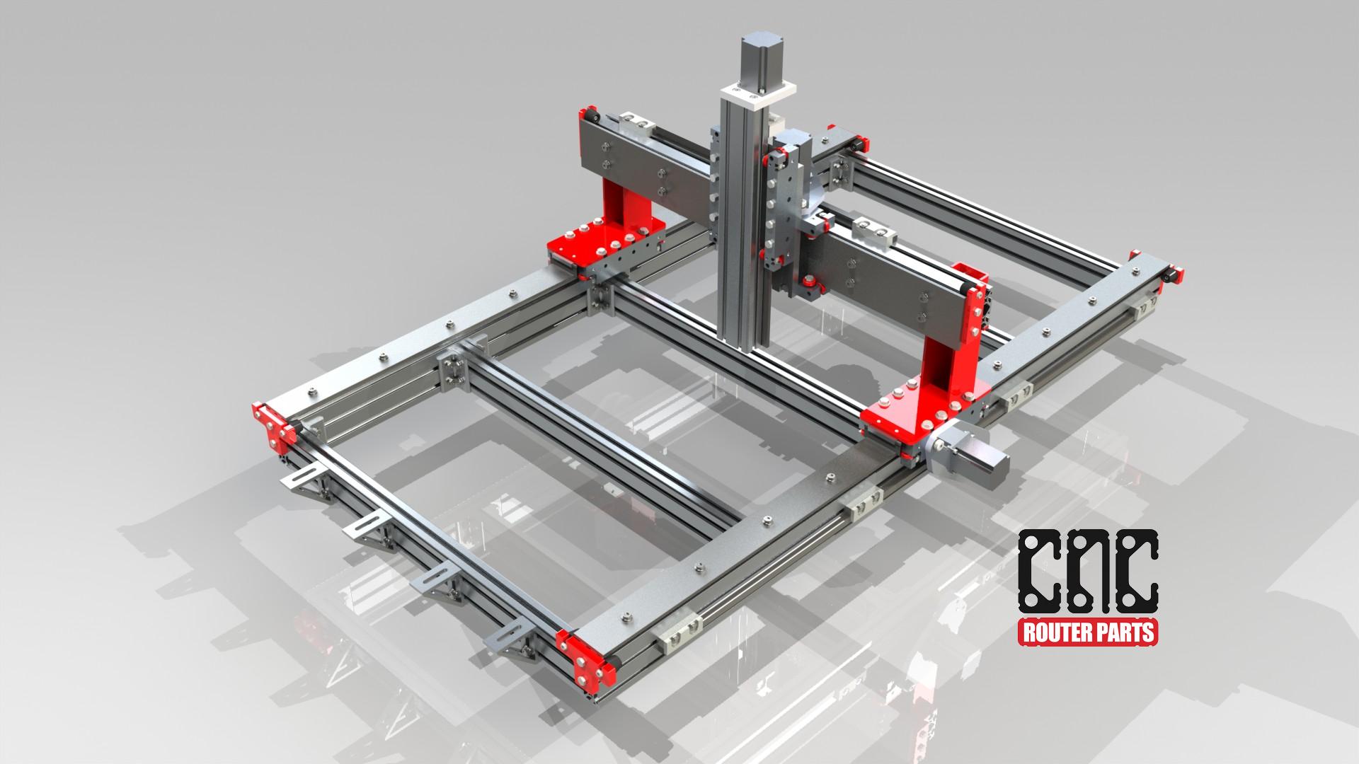 CRP2448 2' x 4' CNC Router Kit