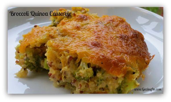 The Gluten-Free Quintessential Quinoa Cookbook: Broccoli Quinoa Casserole - Vegetarian comfort food!