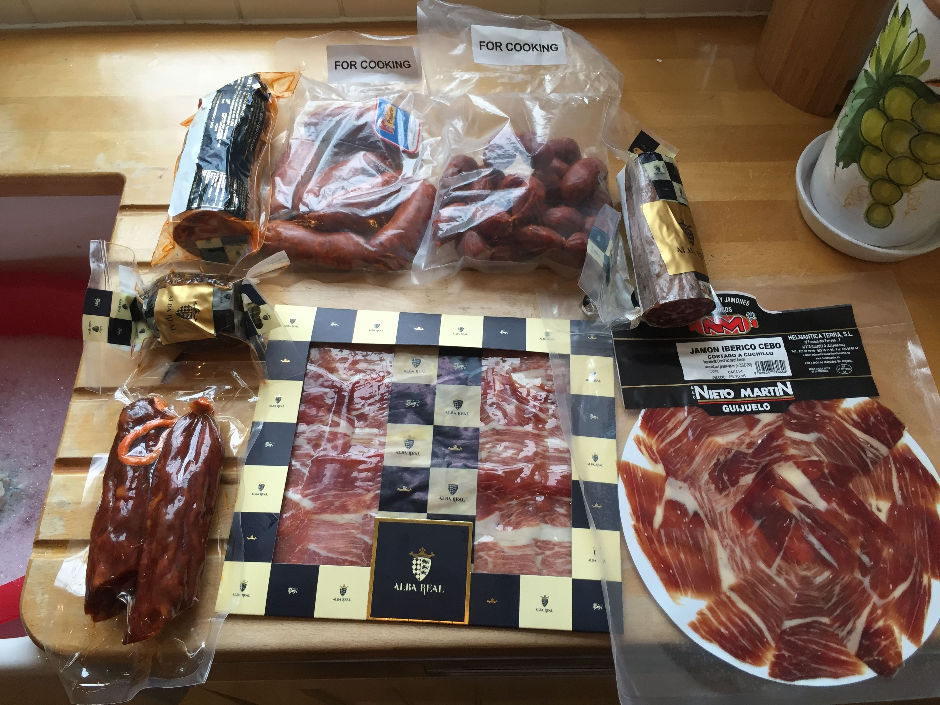 Some Of The Best Spanish Charcuterie Ive Tasted Charcuterie - Cuisine bernollin