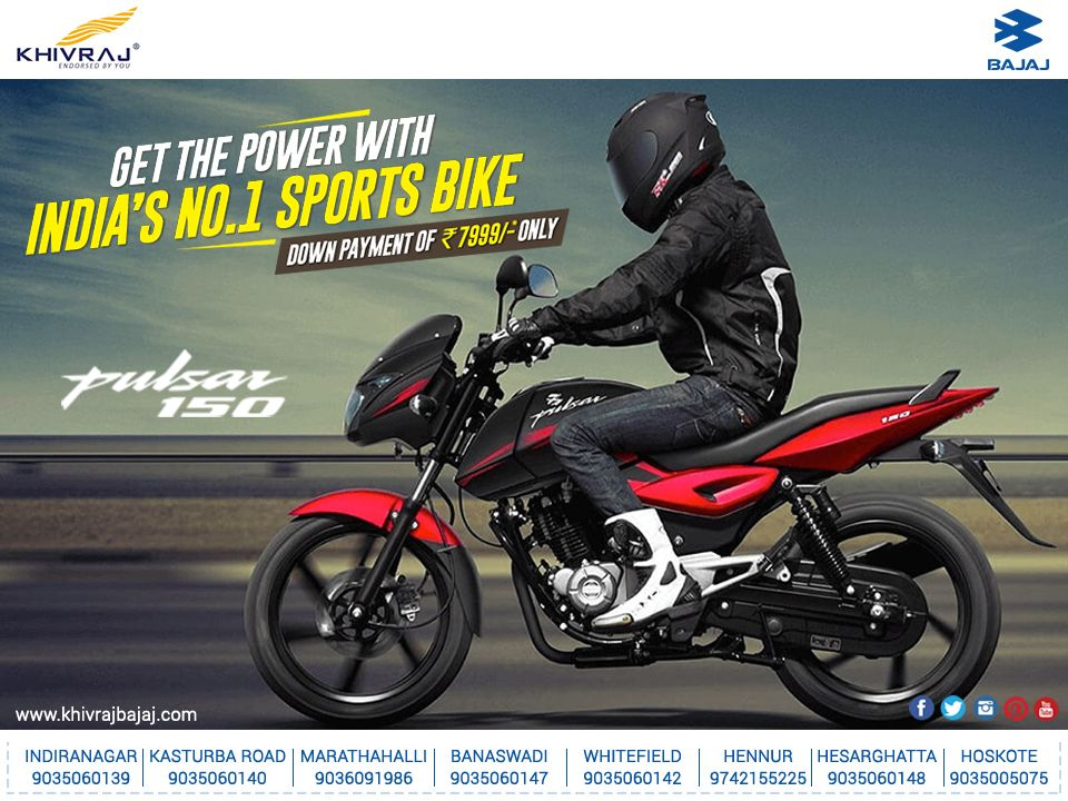 Get the power with indias no1 sports bike with a down