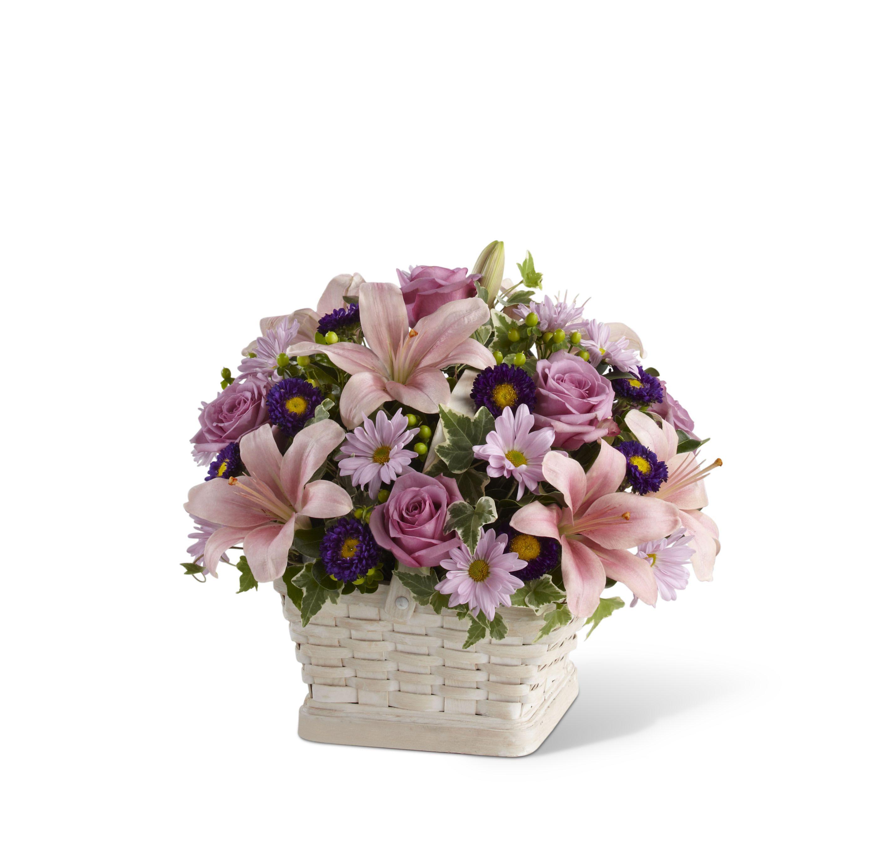 Flower basket arrangement ideas the loving sympathy basket flower basket arrangement ideas the loving sympathy basket arrangement s31 4509 izmirmasajfo