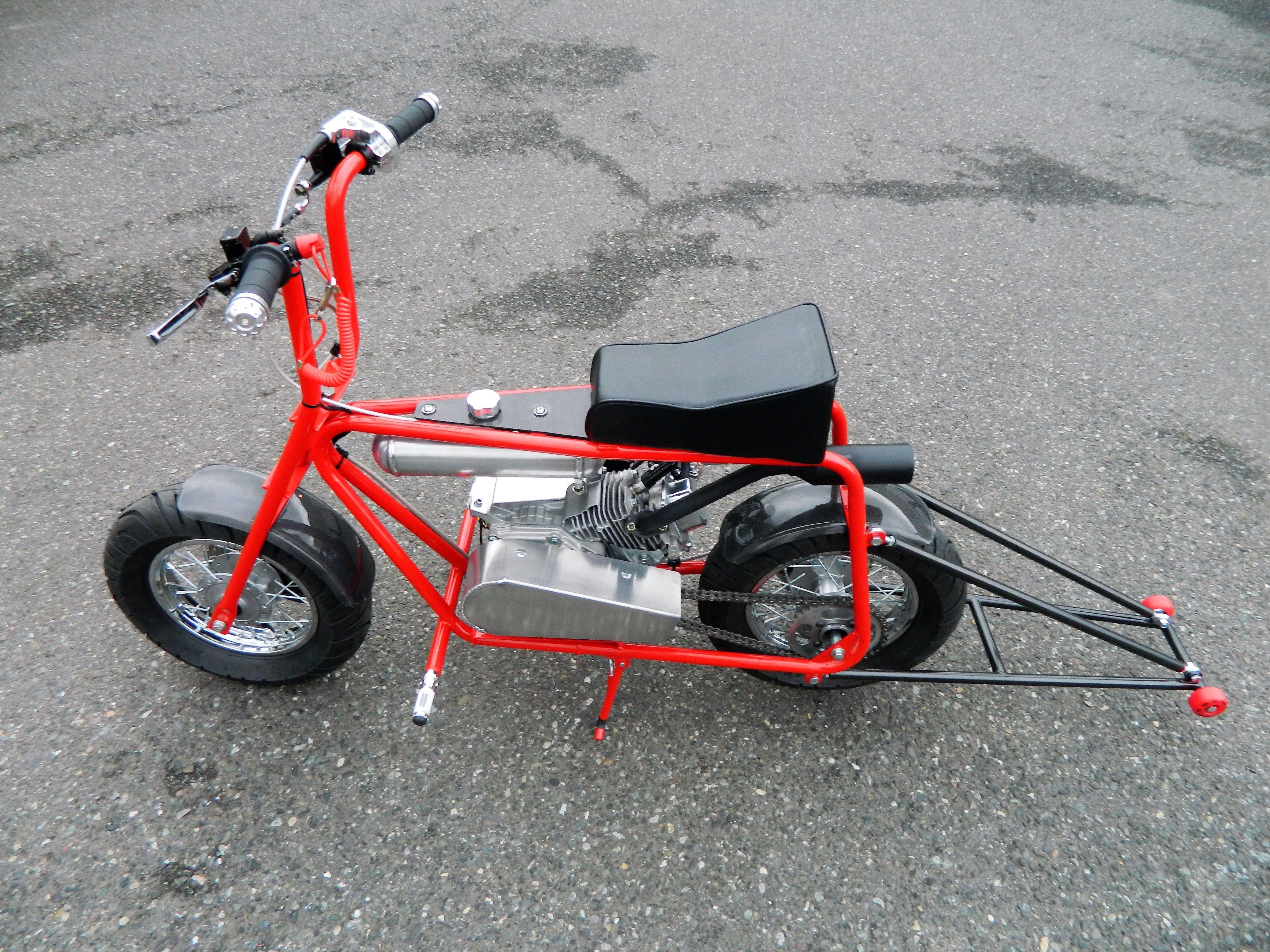 "[DVZP_7254]   www.hotrodminibike.com custom mini bike Azusa frame with 10"" spoke rims,  MCP calipers front and rear. | Custom mini bike, Mini bike, Go kart | Vw Bus Engine Diagram With Wheelie Bar |  | Pinterest"