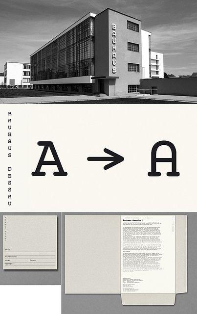 Hort Bauhaus Museum Identity Bauhaus Typography