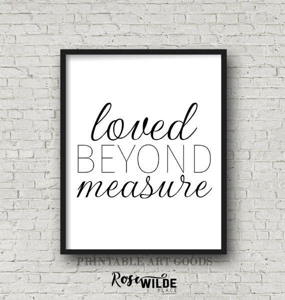 LOVED BEYOND MEASURE