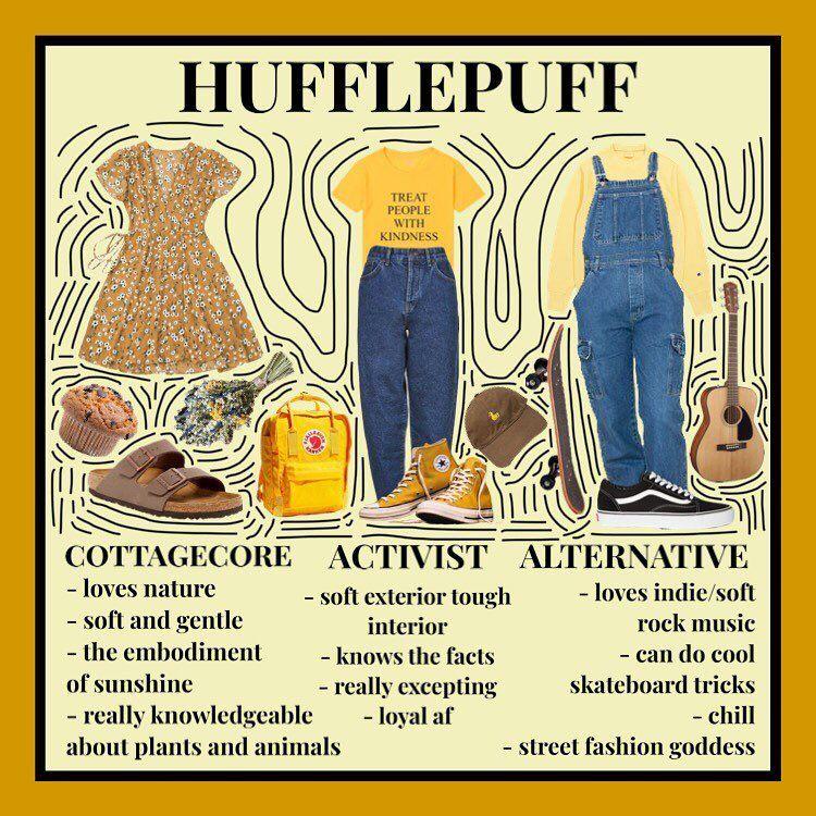 Male Hufflepuff Aesthetic