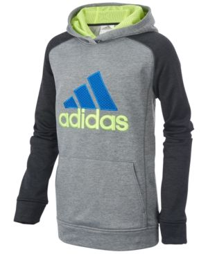 adidas Fusion Hoodie, Toddler & Little Boys (2T 7) Black 7