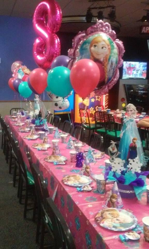 Frozen Party at Chuck E cheese   Frozen   Chucky cheese ...