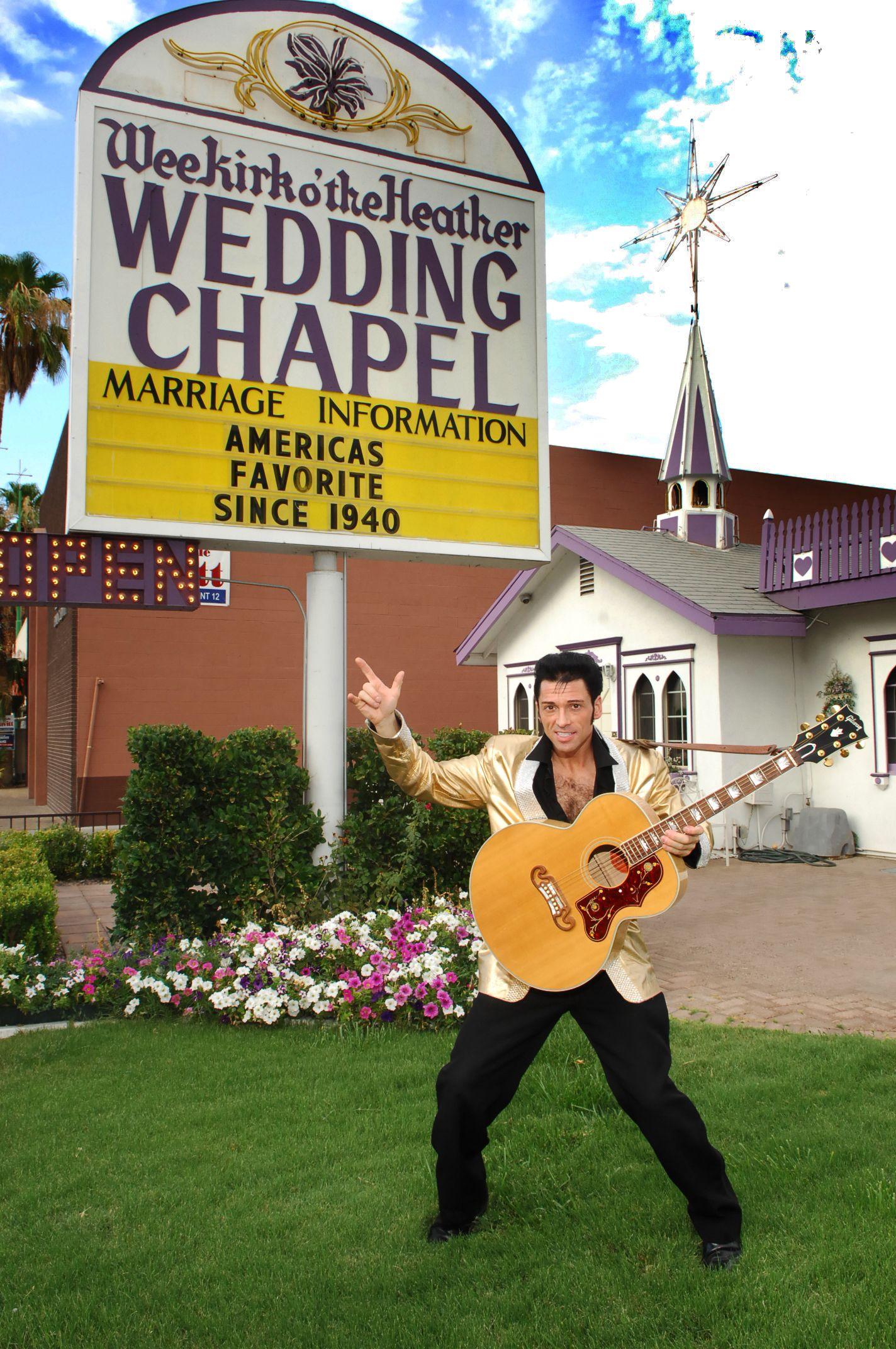 Las Vegas Renewal Of Vows Elvis Wedding Married In Vegas Wedding Dance Songs
