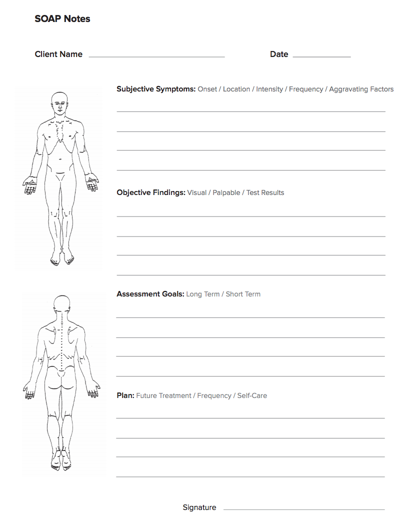 Soap Note Template Soap note, Notes template, Free therapy