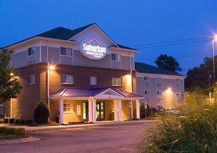 The Suburban Extended Stay hotel in Hampton, VA is near