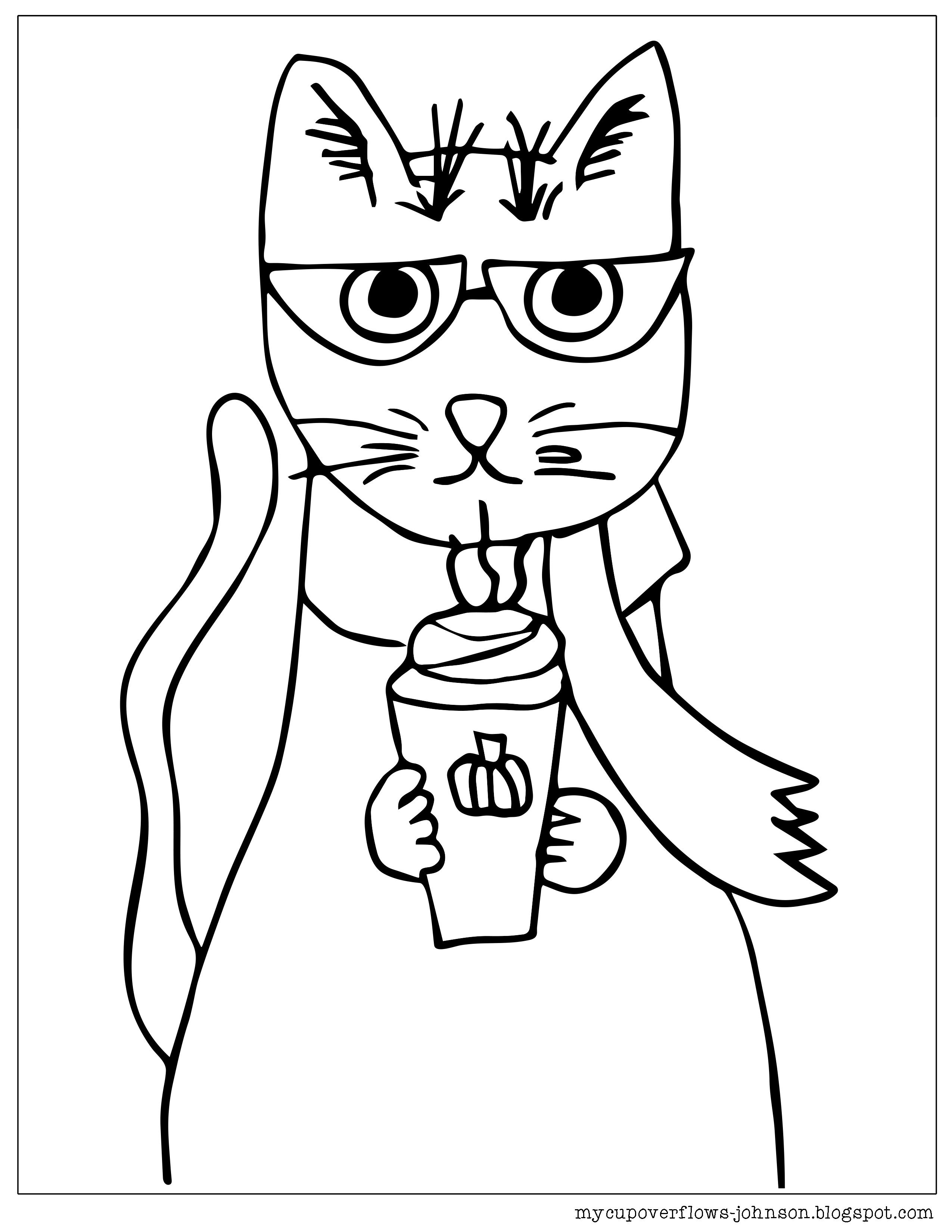 Cat Coloring Page Cat Coloring Page Coloring Pages Cat Fleas